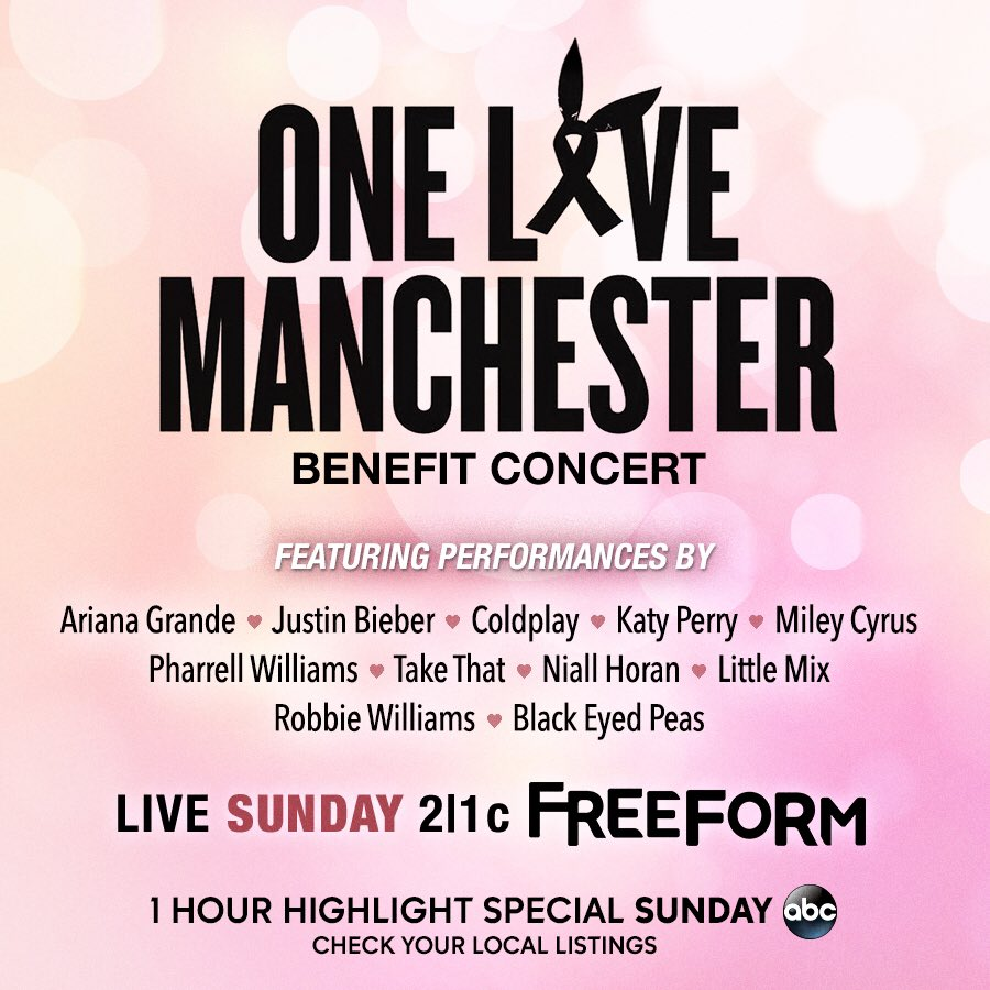 #OneLoveManchester ❤ https://t.co/t4peyOS7SQ https://t.co/s4nCIPm4A4