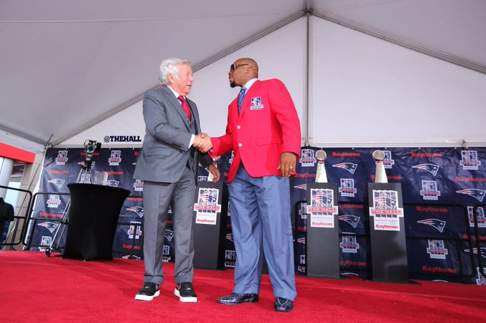 Happy Birthday to Hall of Famer AND Owner Robert Kraft!