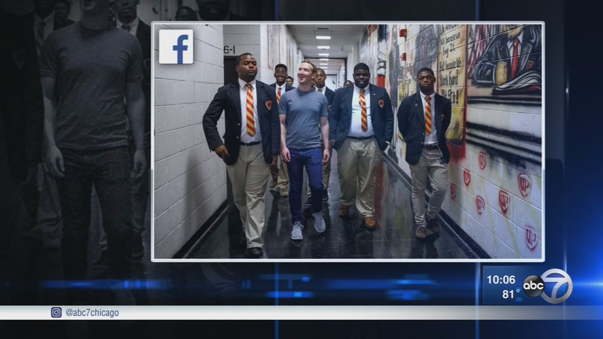 Mark Zuckerberg changes Facebook's mission, tours Chicago's South Side