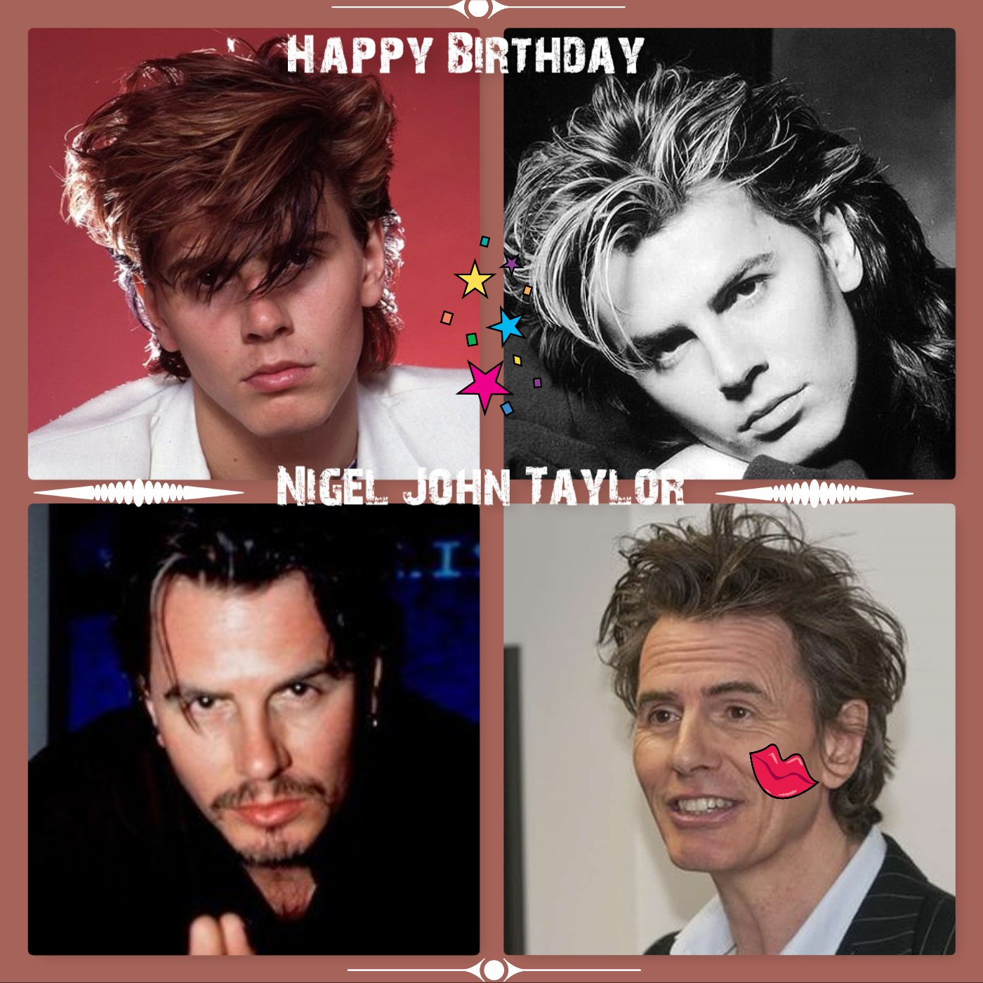 Happy belated Birthday John Taylor Hope you had a great day with family and friends.