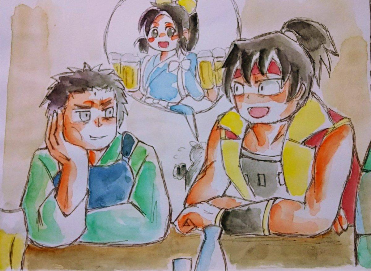 信長の忍び絵。原作にもあったけど、真柄さんと本多さんで飲みに行けばいいよ。「戦国雀王のぶながさん」の世界では普通に麻雀打