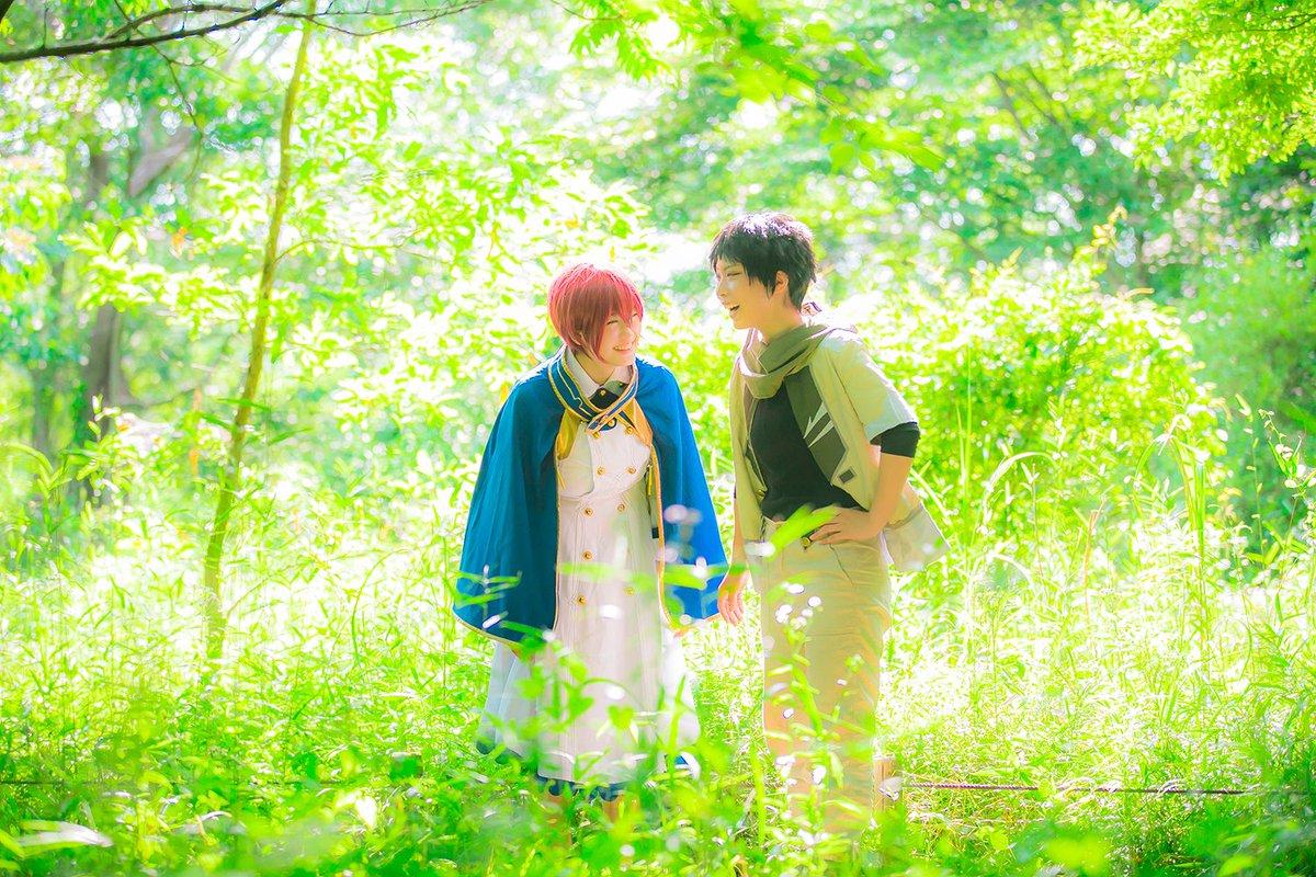 【cos/赤髪の白雪姫】白雪:しあさんオビ:はるふさん