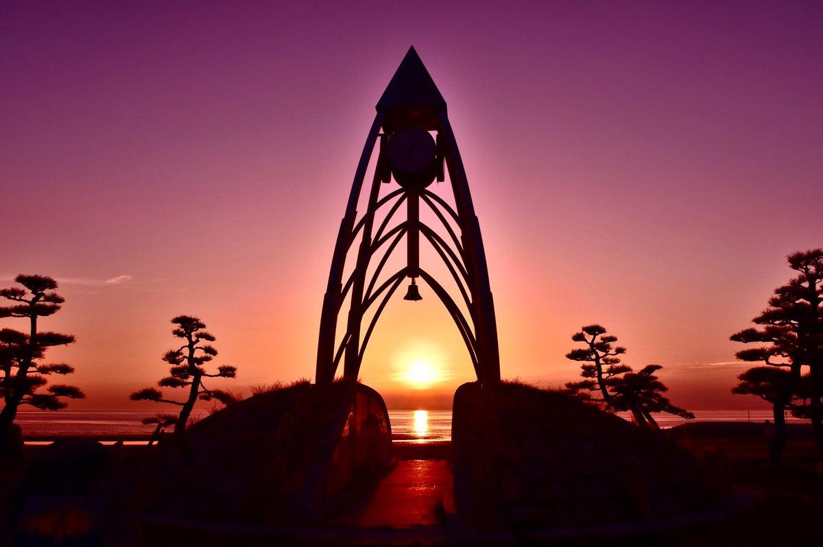 「夕陽」#香川県 #一の宮公園 #うどんの国 #D5500 #写真好きな人と繋がりたい #ファインダー越しの私の世界
