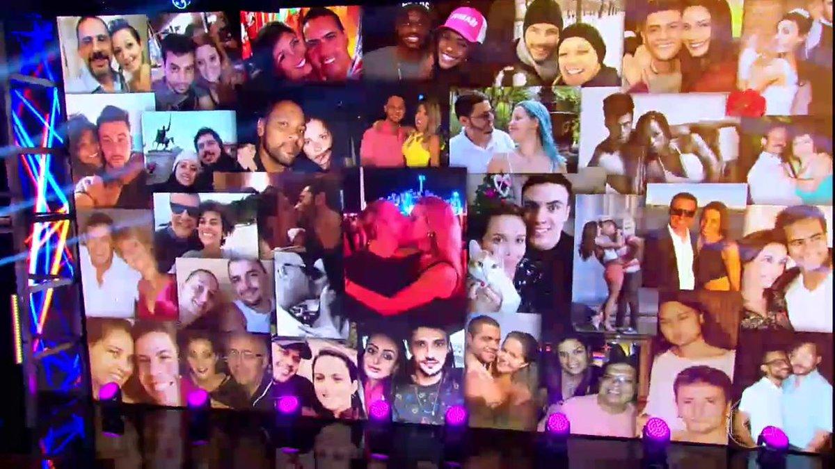 Que fofo! O amor está no ar no #Domingão! 😍 https://t.co/Qtf8dJUXEf