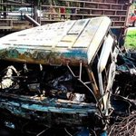 8 killed, including 6 burnt to death, in multi-vehicle crash in Malaysia