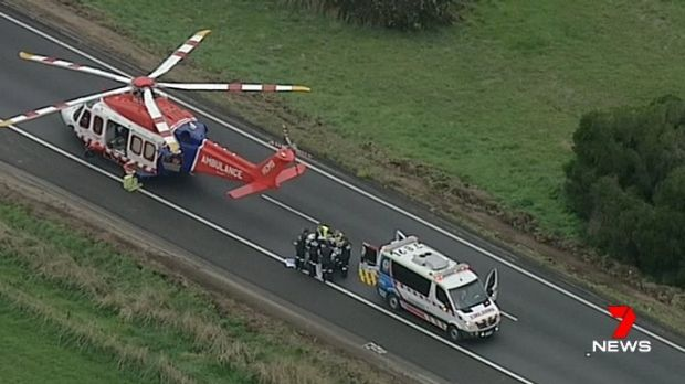 Girl flown to hospital after multi-vehicle pile-up creates 30km tailback on Hume