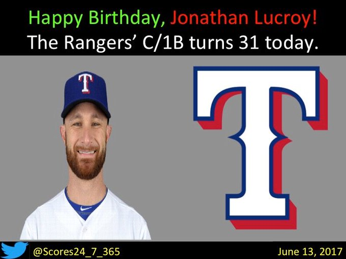happy birthday Jonathan Lucroy!