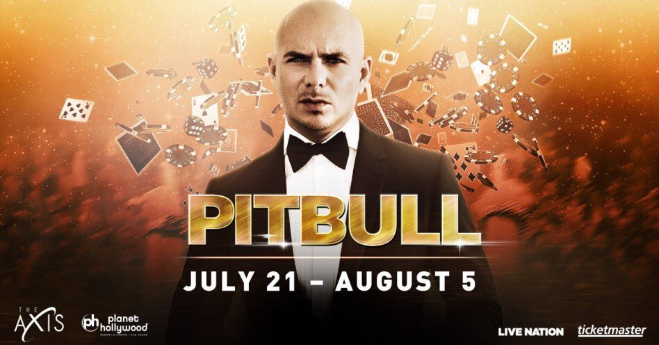Join us in Vegas this summer! July 21 - August 5 at @PHVegas #TheAXIS #pitbullvegas https://t.co/CeJQb2Te2Y
