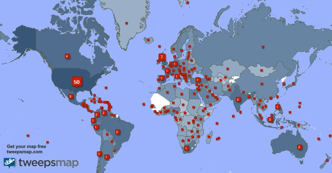 I have 550 new followers from USA, Mexico, Colombia, and more last week. See https://t.co/Rw9AAvUybD