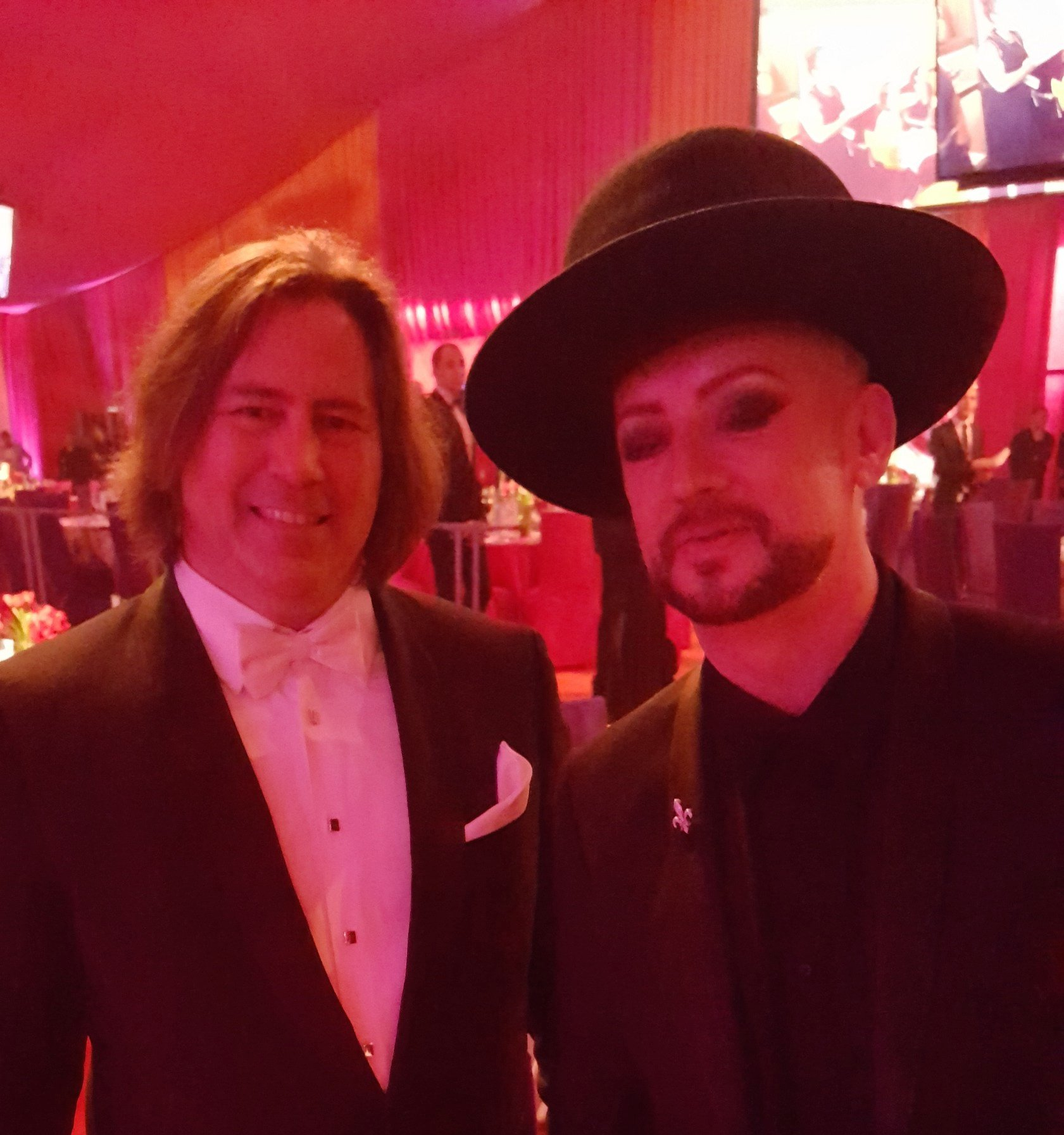 Happy Birthday to the heart of the Culture Club, Boy George.