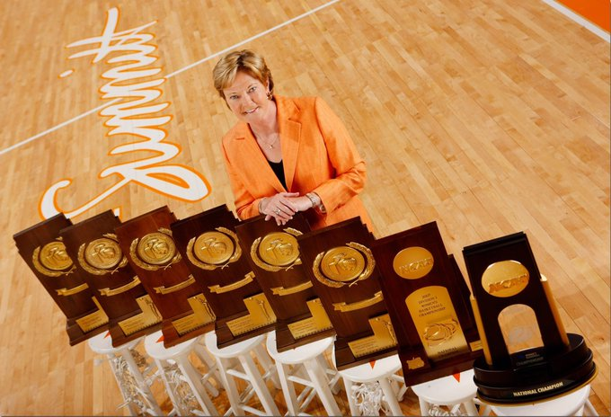 A Happy Birthday to the late, great Pat Summitt. That lady was a class act.