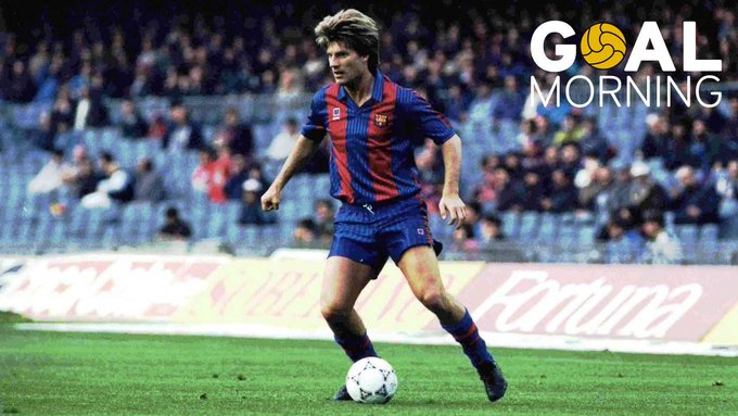 G  AL MORNING!!!   Today is Michael Laudrup s birthday.  Happy birthday!