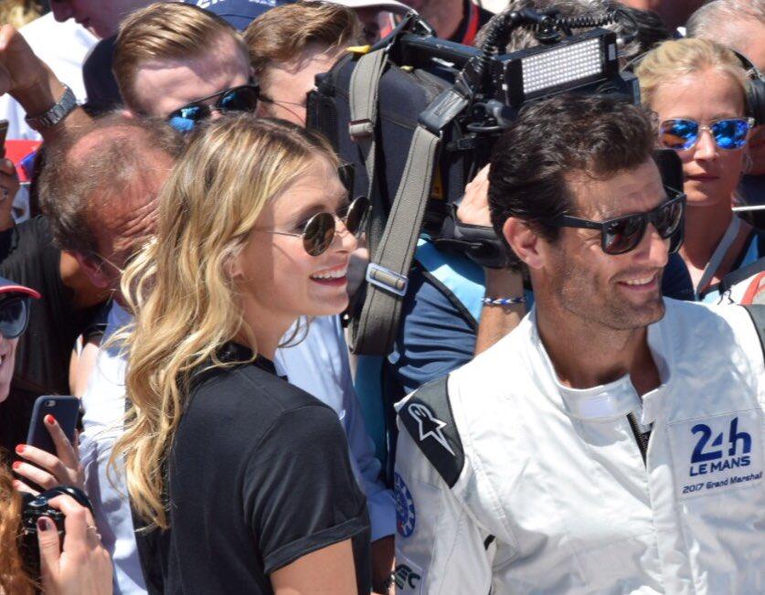 RT @PorscheEveryDay: Visita muy especial a #LeMans24 de dos grandes, @MariaSharapova y @AussieGrit https://t.co/WtmGGrL1Vr