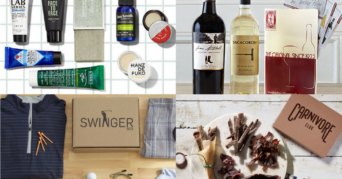 Last minute Father's Day gift: Subscription boxes for the win: https://t.co/92RLlililK https://t.co/uthGLqlZ9T