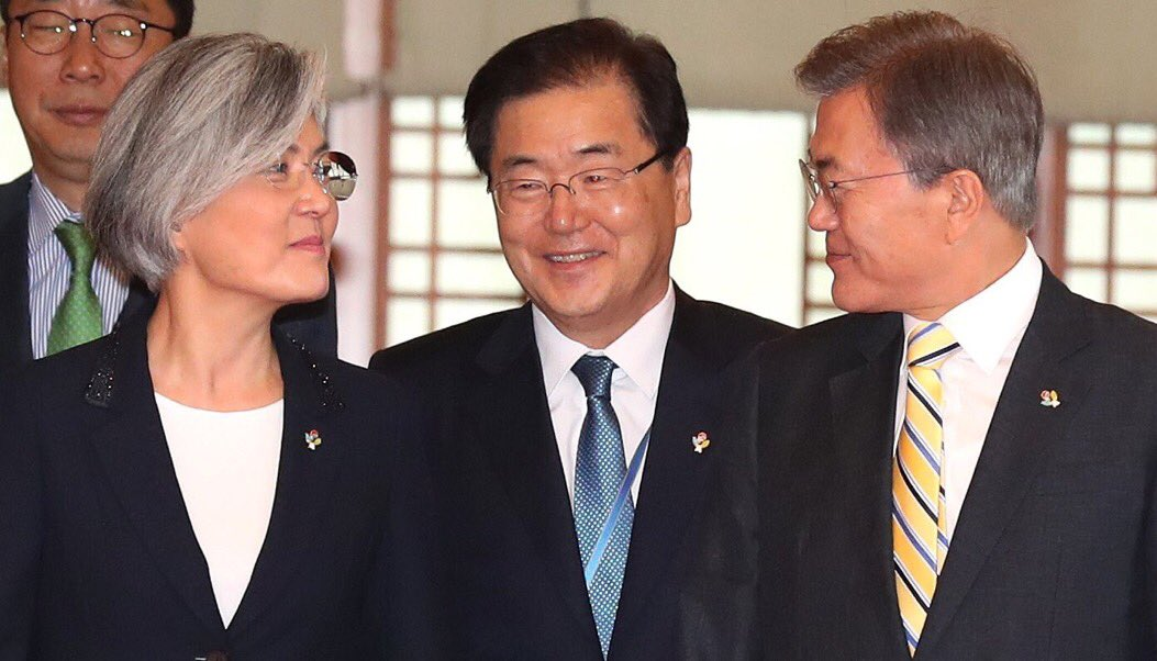 강경화 외교장관 임명