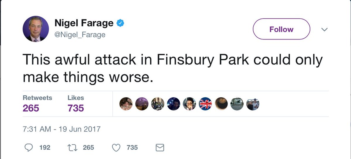 RT @jk_rowling: Let's talk about how the #FinsburyPark terrorist was radicalised. https://t.co/Lx1woEaLKL