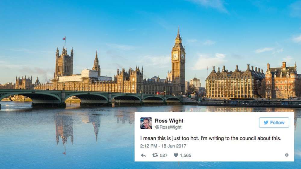 9 of the most hilariously British reactions to the heat wave https://t.co/Enoic8piuE https://t.co/KerGB4tvD6