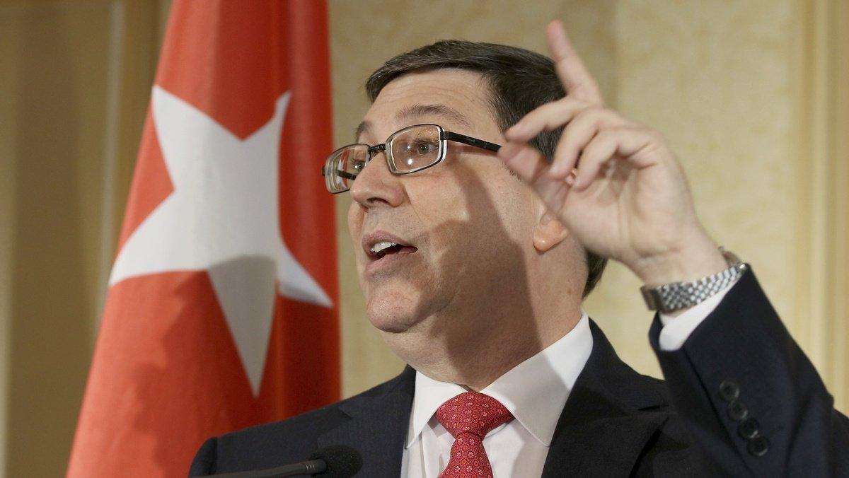 Cuban foreign minister: 'We have the patience' to wait out Trump