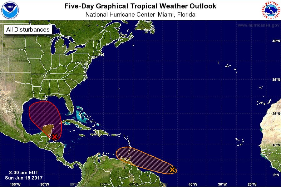 Odds of a tropical storm in Gulf creep up to 90 percent