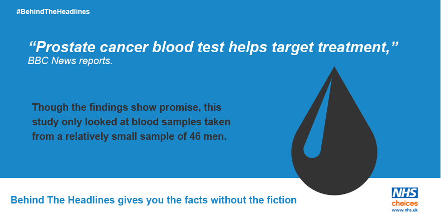 Blood test may show if prostate cancer treatment is working