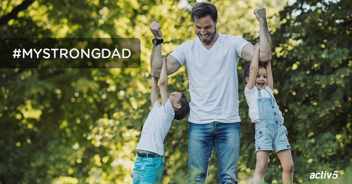 #win Enter for a chance to win an Activ5 Deluxe Package by sharing how strong your dad is https://t.co/WGIGB0WD71 https://t.co/tHwWDx8VIv