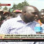 Jubilee leaders marshal support for Uhuru Kenyatta in Elgeyo Marakwet