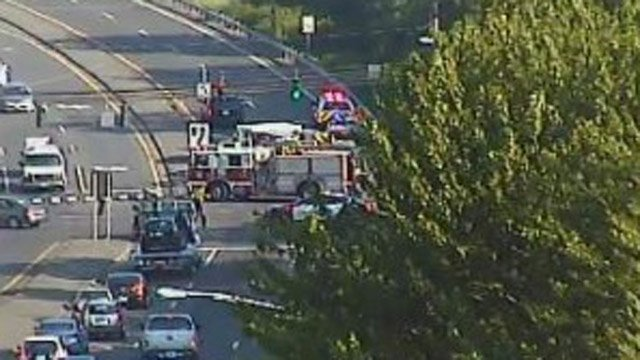 Deadly crash reported at Route 8 exit ramp in Waterbury