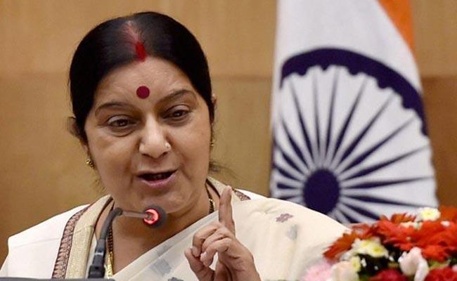 Sushma Swaraj asks Indian envoy in Saudi to help nurse forced into slavery