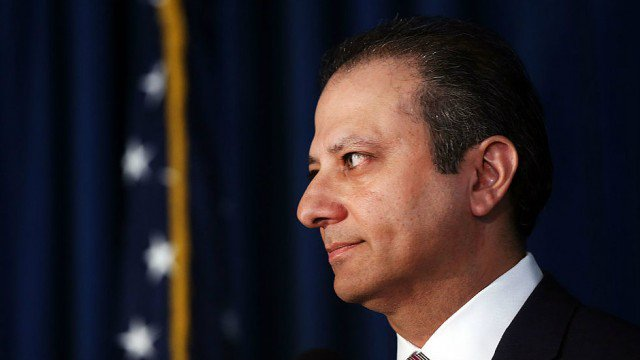 Preet Bharara contacted Sessions' office about Trump phone call before his firing https://t.co/H06cgZv35q https://t.co/ABPyR3NULn