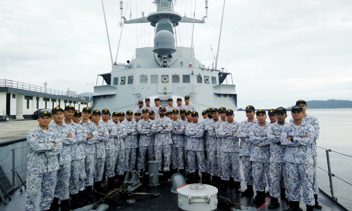Navy men celebrate Raya with 'family' away from home