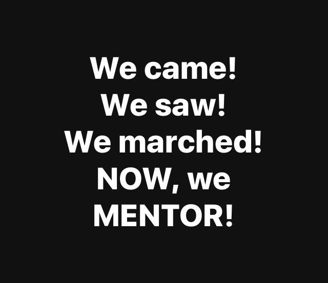 test Twitter Media - We came! We saw! We marched! Now, we mentor! #alphasinthestreets #alphaimpact #alphastrong 💪🏾🤙🏾 https://t.co/KUOnGIOPTY