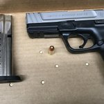 Three arrests, three loaded guns off street