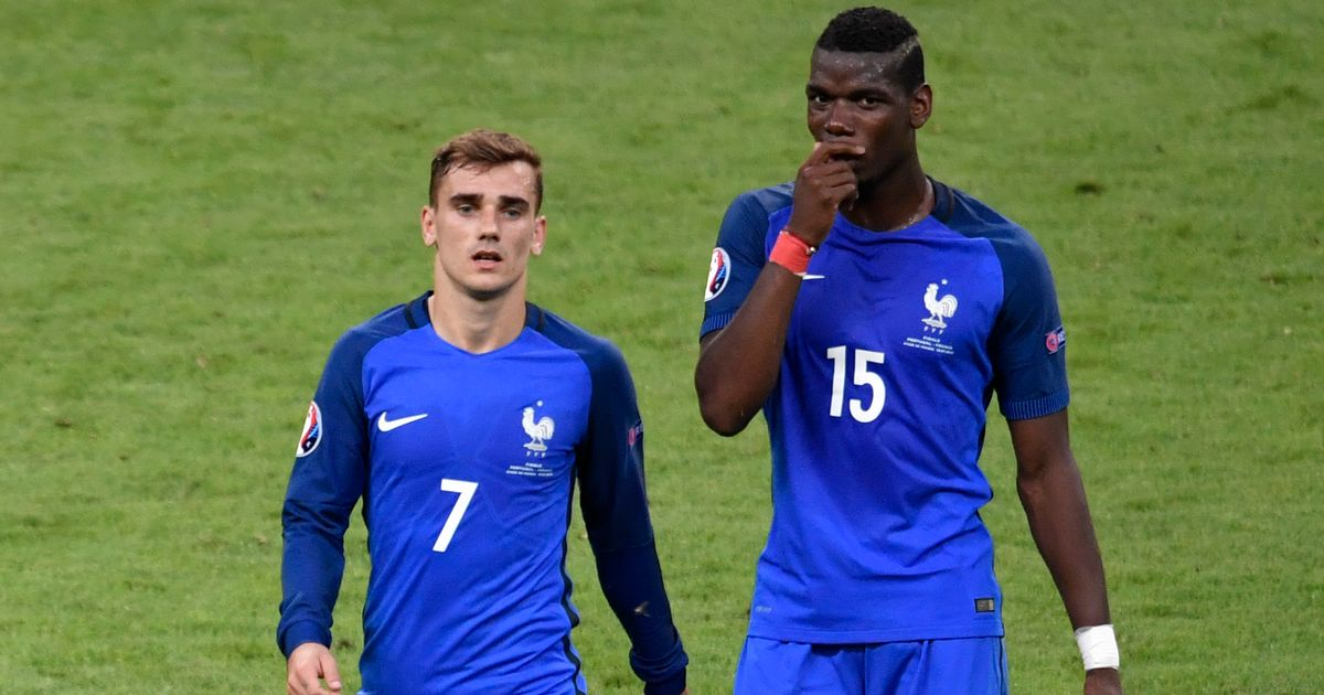 Manchester United midfielder Paul Pogba makes shock admission about Antoine Griezmann