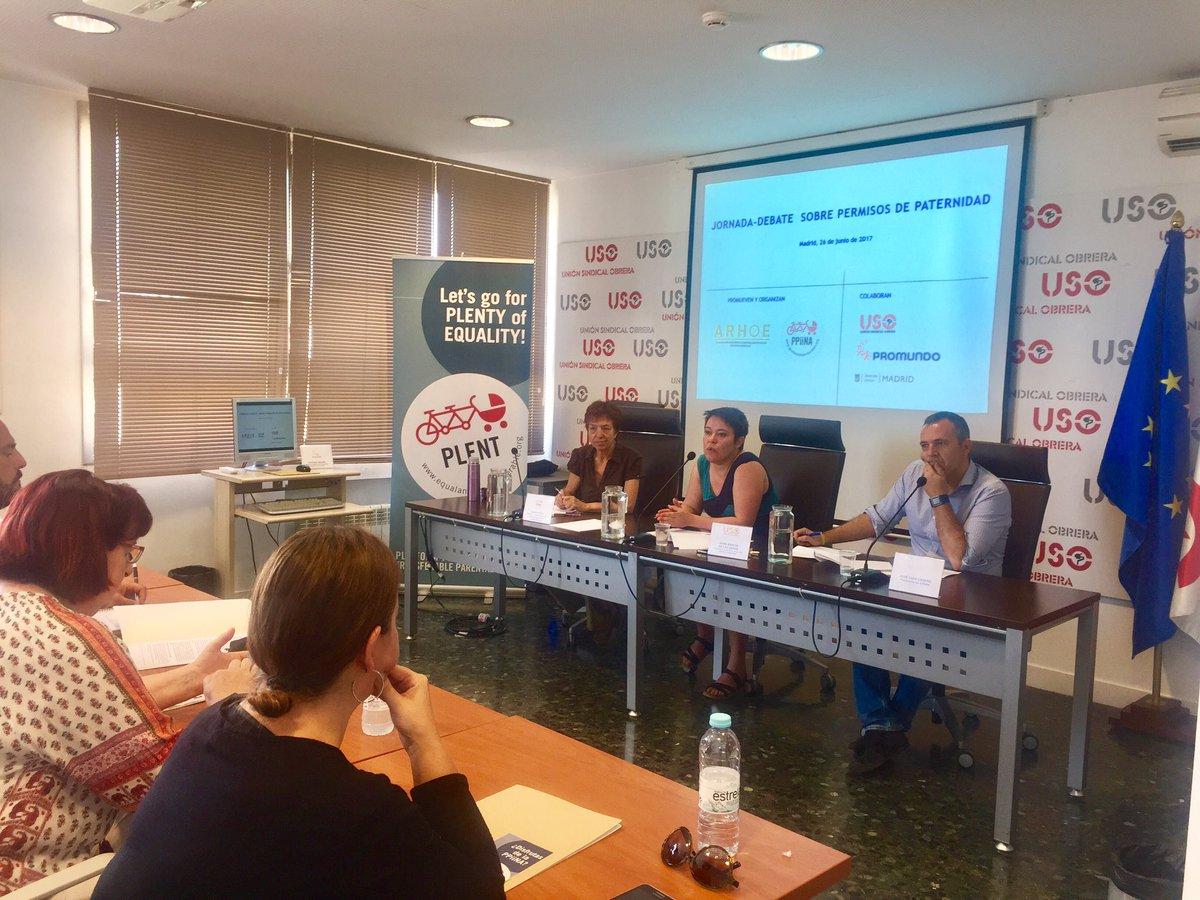 RT @USOConfe: Jornada-debate sobre permisos de paternidad con @ARHOE_enhora @PPiiNA y @AccionsindUSO https://t.co/QHkwTGIpCl