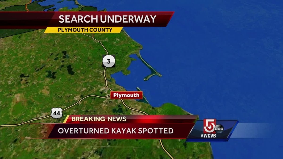 Search underway for missing kayaker