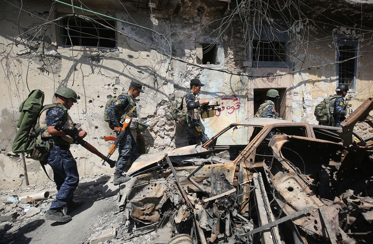 Endgame in Mosul: Iraqi forces storm the Islamic State-held Old City