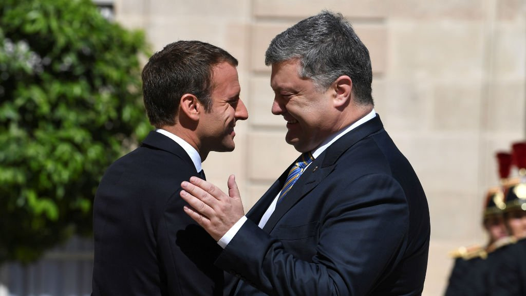 France's Macron refuses to recognise Crimea 'annexation'