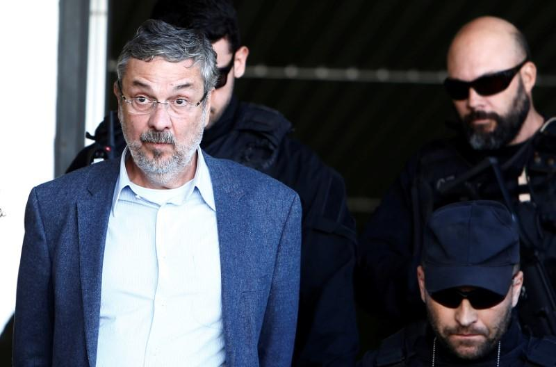 Former Brazilian finance minister Palocci sentenced to 12 years in prison