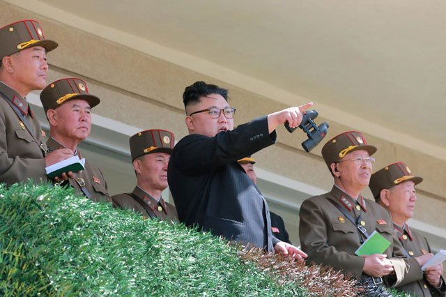 Trump says North Korea threat must be 'dealt with rapidly'