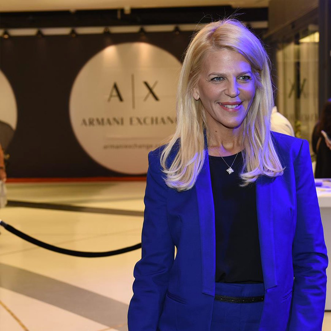 Armani Exchange On Twitter In Tel Aviv Last Night Roberta Celebrated The Opening Of New Axchange At Tlv Fashion Mall