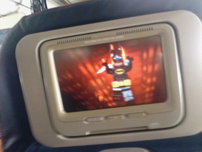 Watching Lego Batman on my way to Key West.  That's what's better. ✈️🏝️😊 https://t.co/N15H4LNPg0