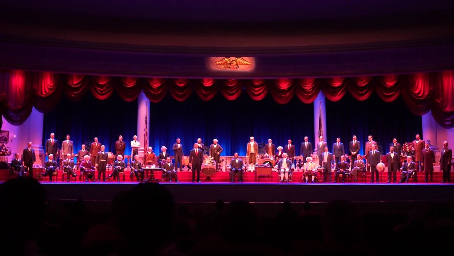 Disney denies reports of Trump-related turmoil at the 'Hall of Presidents' attraction