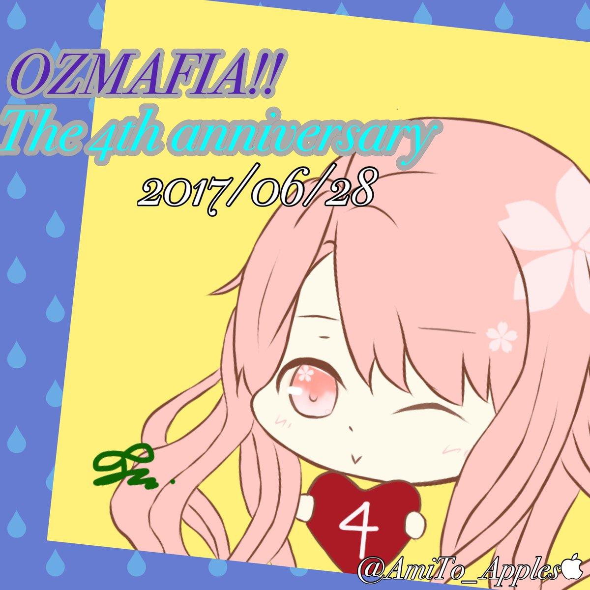 OZMAFIA!!4周年おめでとうございます🎊Vita化、アニメ化、カフェコラボ、オズイベ、ぐだれでぃ、沢山の大好きが4