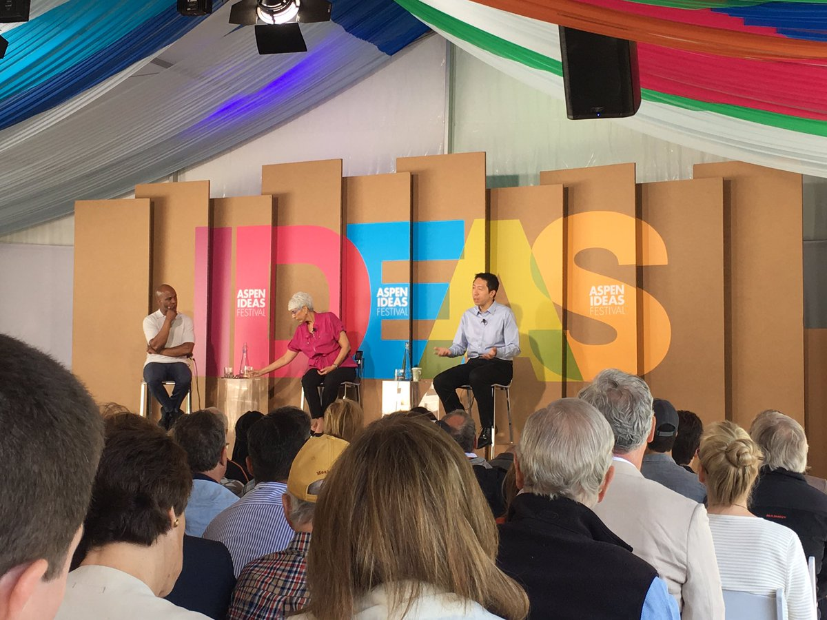 "test Twitter Media - The challenge of AI is the ""inequality scenario"" @AndrewYNg & Arati Prabhakar #aspenideas https://t.co/rBgG3jaEtg"