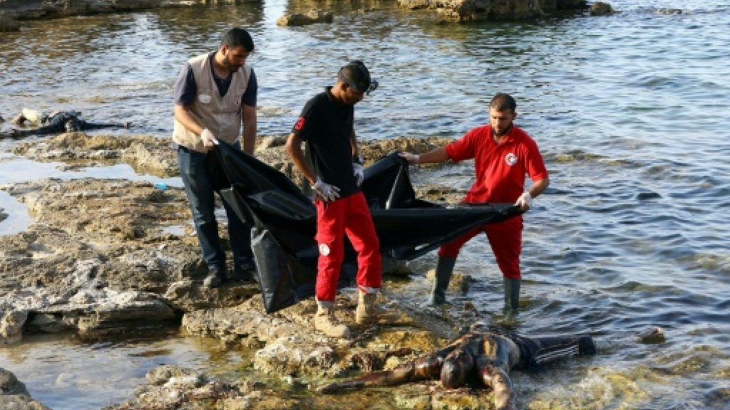 Dozens feared drowned after 'migrant boat sinks off Libya'