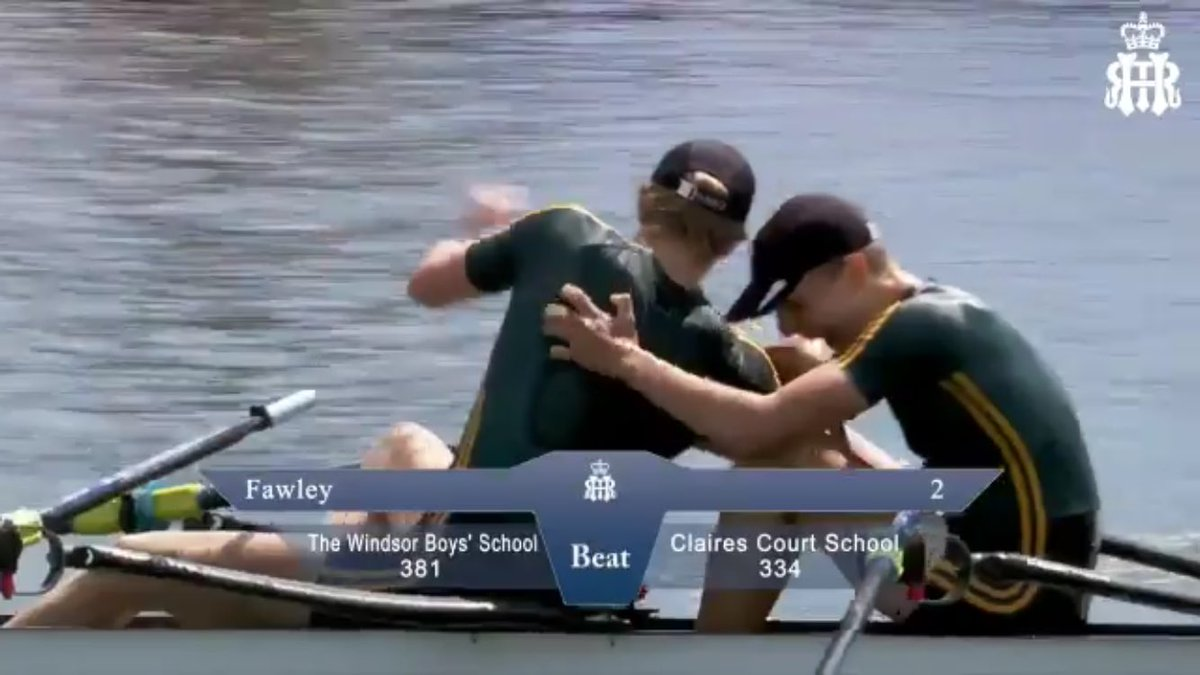 test Twitter Media - RT @TWBS_SPORT: A photo that speaks a thousand words and emotions! @WBSBC have won the @HenleyRegatta Fawley Cup https://t.co/fzFmIUHxQn