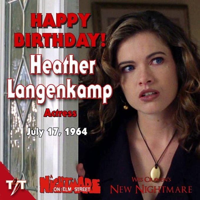 Happy Birthday! Heather Langenkamp
