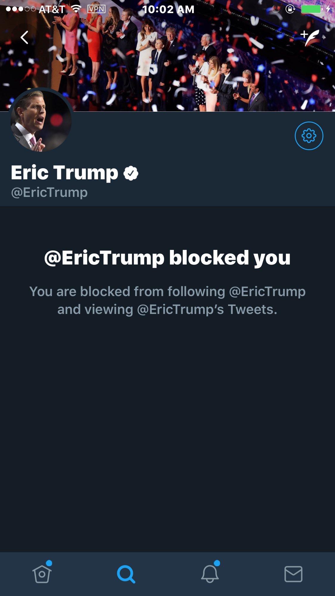 Awww! @erictrump, really?   Snowflake folds! https://t.co/KDZtOtP6L4