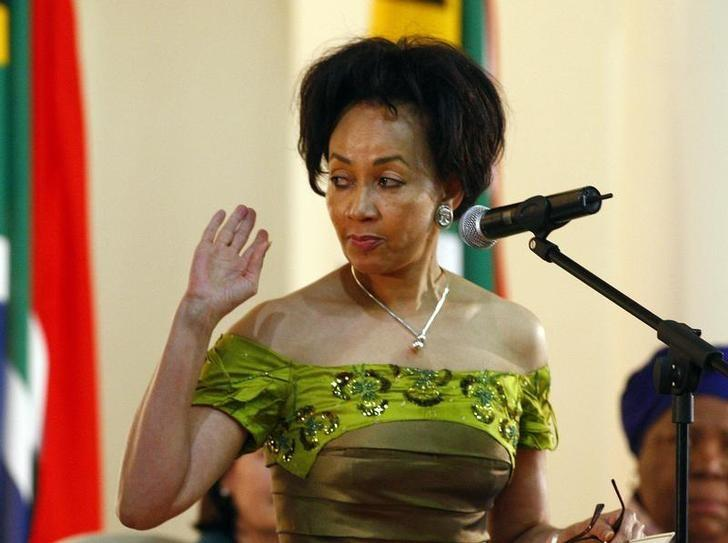 South Africa's Sisulu starts bid to lead ruling ANC