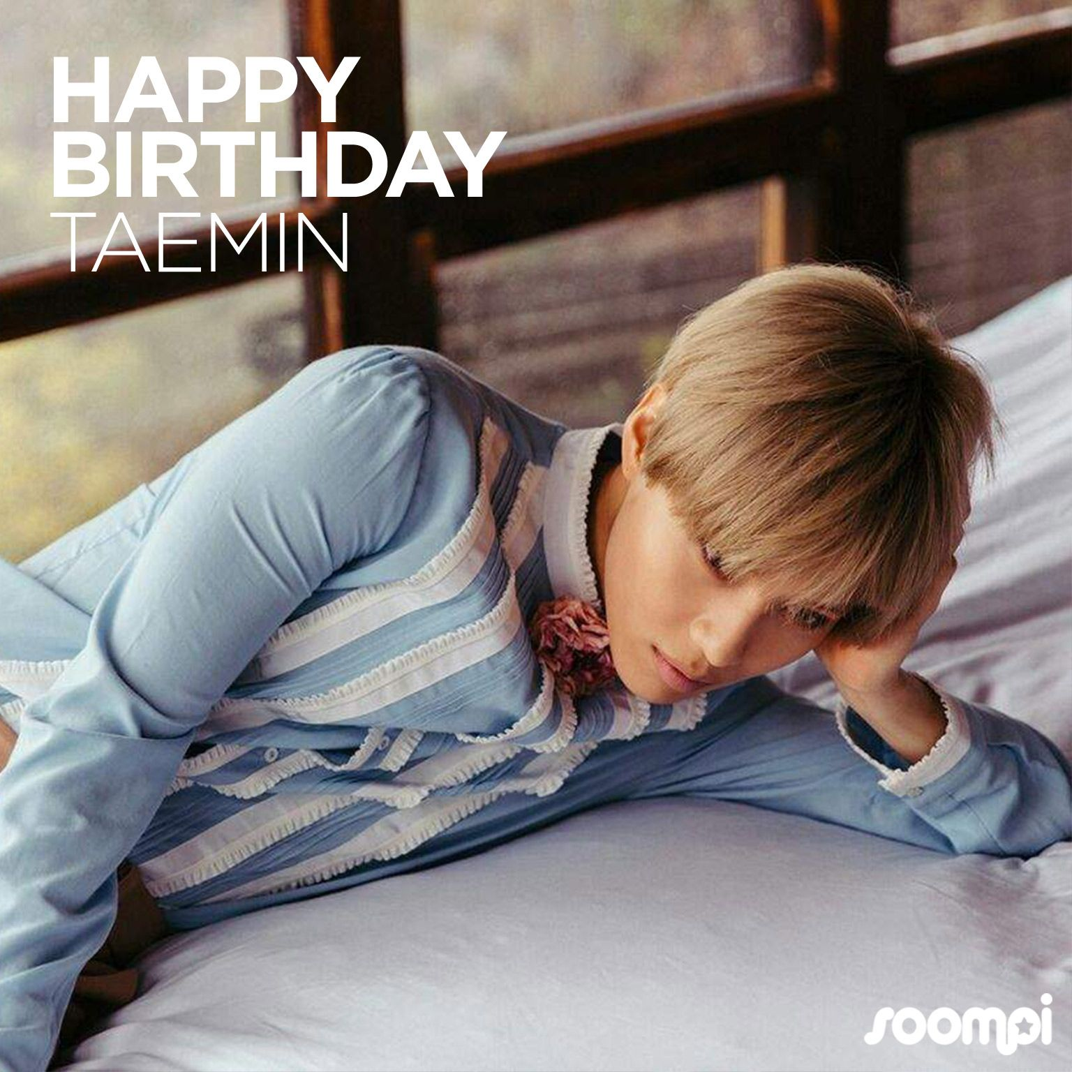 Happy Birthday to #SHINee's Taemin! #HappyTaeminDay �� Catch up with him: https://t.co/CYVpN7CI3b https://t.co/D7cAE76zTM